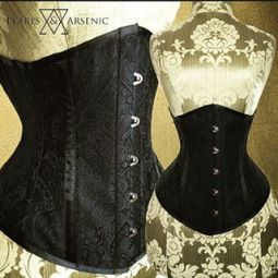 Pearls & Arsenic Brocade Underbust (USD193~)